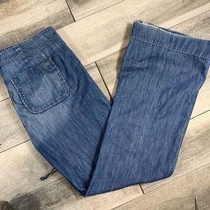 {Joe's} wide leg flare jeans